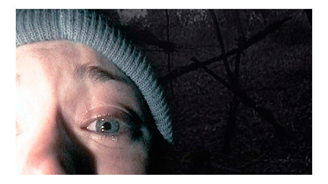 La recordada imagen de la estudiante frente a la cámara