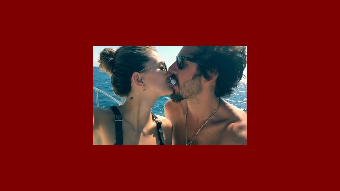 La China Suárez y Benjamín Vicuña se grabaron besándose en cámara lenta