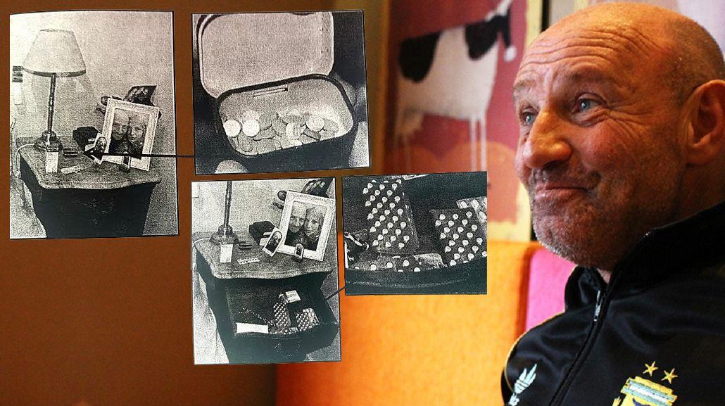En la habitación donde murió Leo Rosenwasser había jeringas y viagra