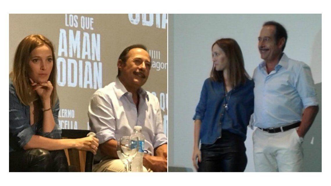 La emoción de Guillermo Francella al hablar de Luisana Lopilato