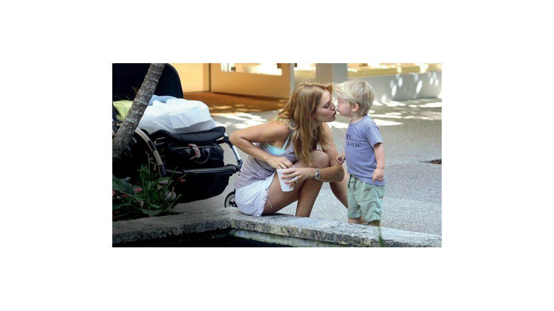 Luisana Lopilato volvió a las redes y con un emotivo posteo de Noah