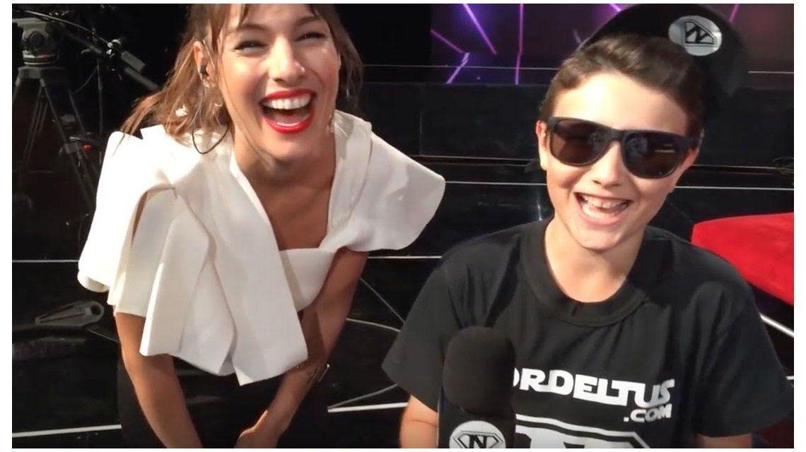 El video completo de la divertida charla entre Pampita y el youtuber Nordeltus