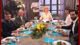 La perlita de Furriel, Araceli González y Lerner en el programa de Mirtha Legrand