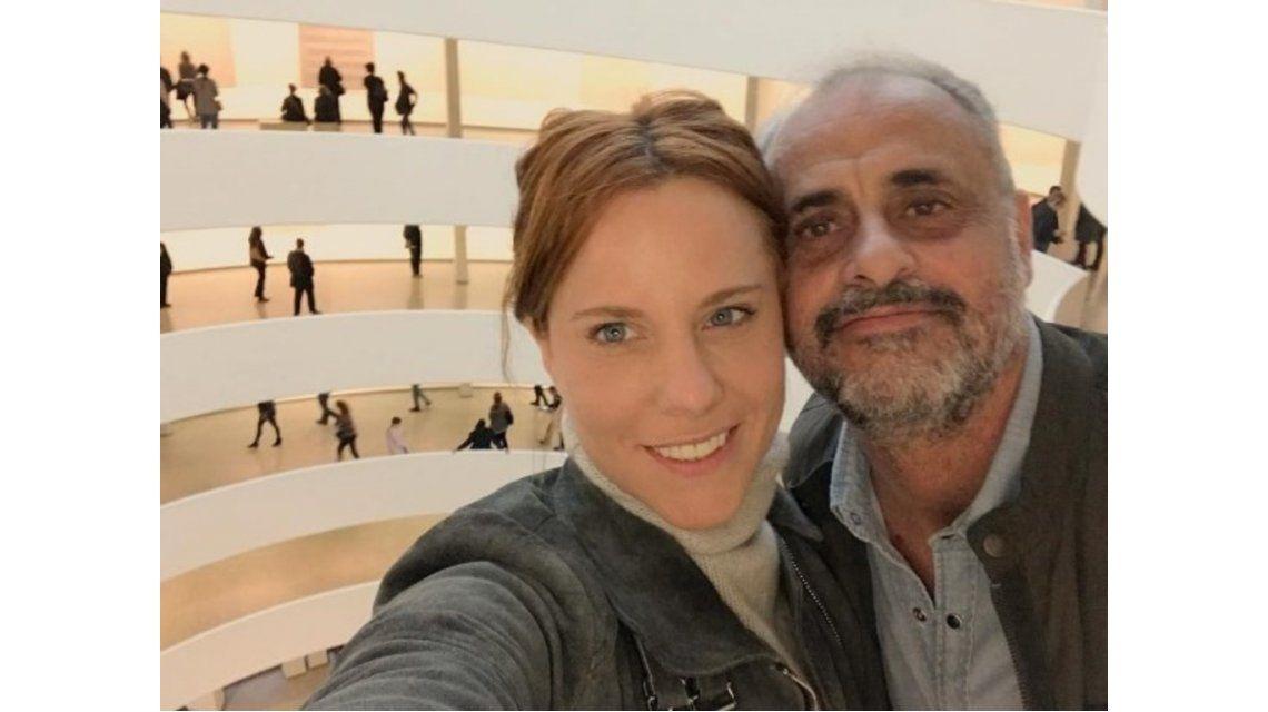 Qué le dijo Agustina Kämpfer a Jorge Rial sobre su embarazo