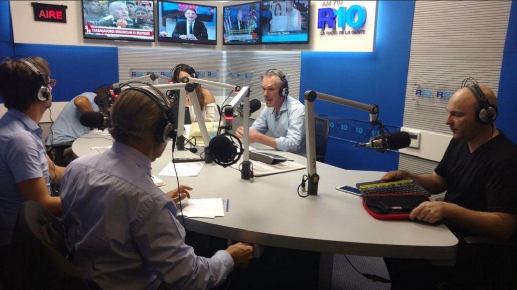 Marcelo Zlotogwiazda llegó a Radio 10 con La vuelta de Zloto