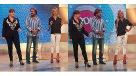 Mariana Fabbiani cantó con los Pimpinela