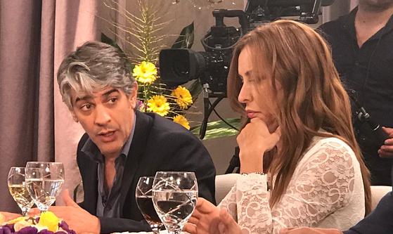 Picante discusión entre Pablo Echarri y Analía Franchín por la educación pública