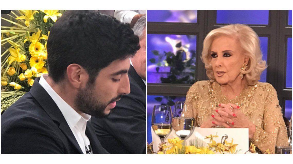 Mirtha se cruzó con Facundo Moyano por Susana