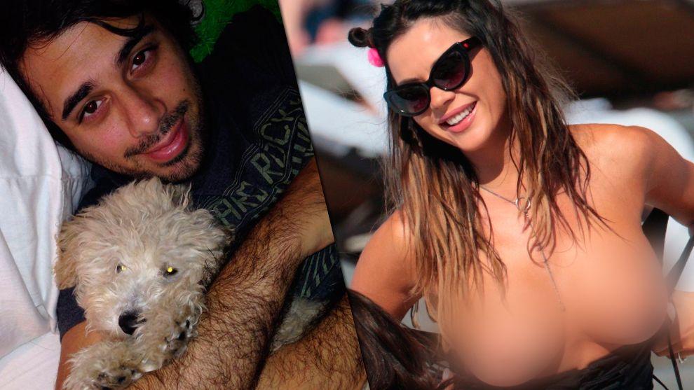 Albi habló del topless de Karina Jelinek