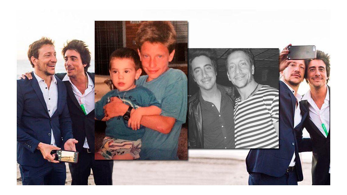 Nico y Santi siempre unidos