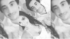 La foto que subió la actriz junto a Santi en Instagram