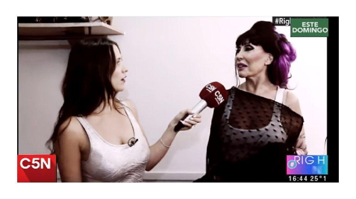 Julieta Camaño y Moria Casán