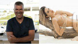 Dady Brieva y Mariela Anchipi