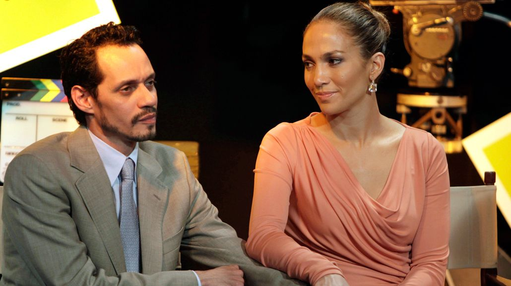 Marc Anthony a Jennifer Lopez