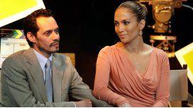 Marc Anthony a Jennifer Lopez