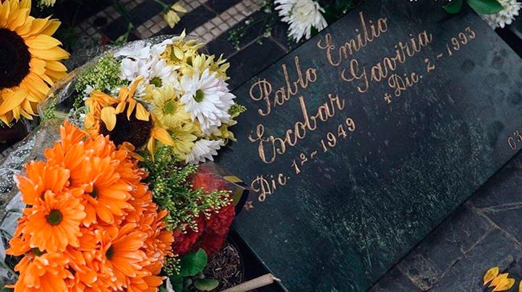 La tumba de Pablo Escobar