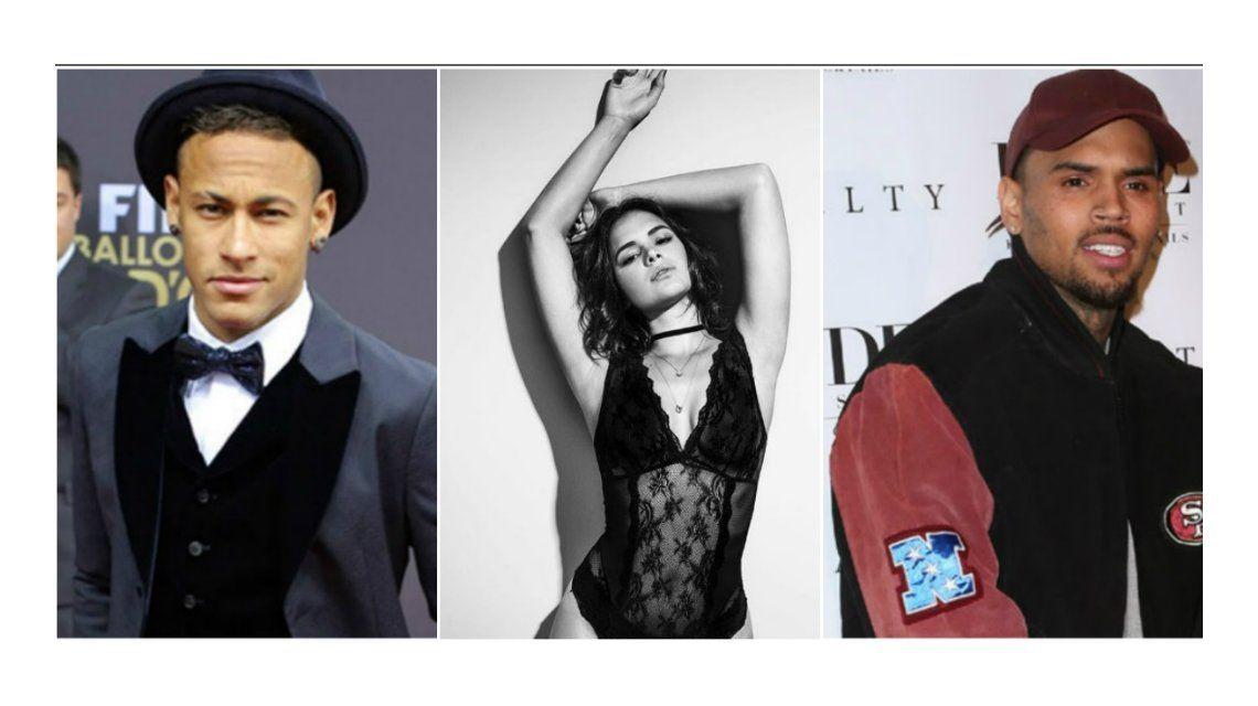 Neymar vs. Chris Brown por Bruna Marquezine