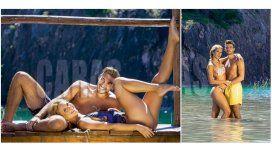 Flor Vigna, acaramelada con su novio en Carlos Paz: Queremos convivir