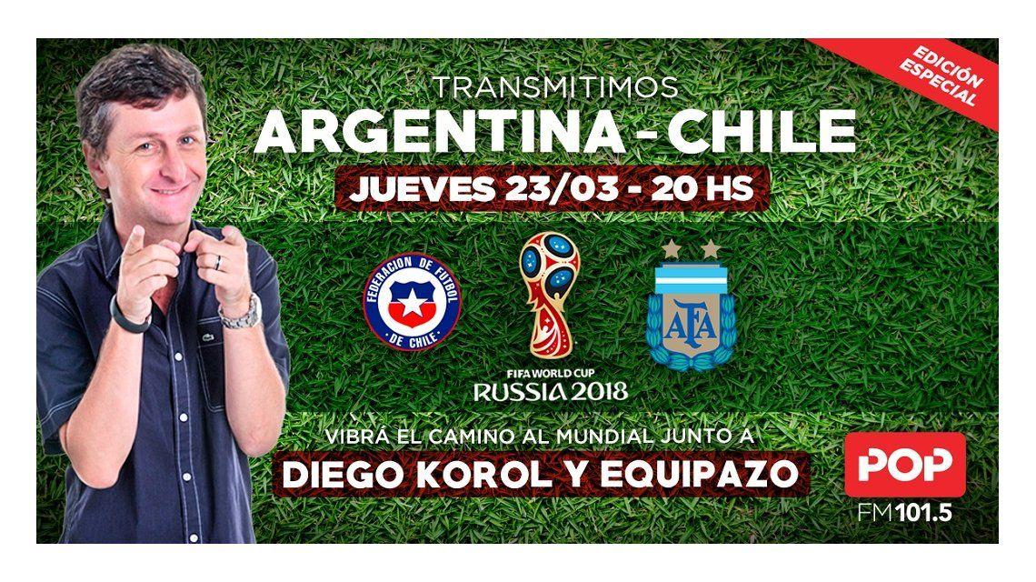 Viví Argentina - Chile por POP 101.5