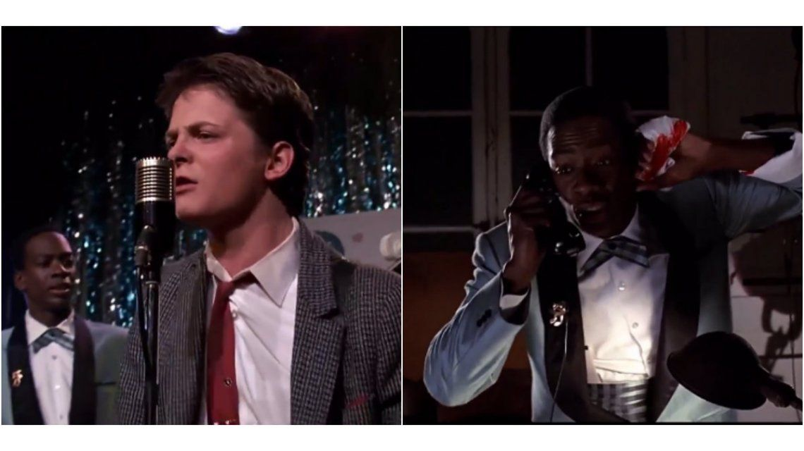 Marty McFly toca Johnny be Goode