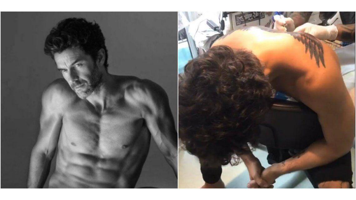 Antes y despúes de su tatuaje