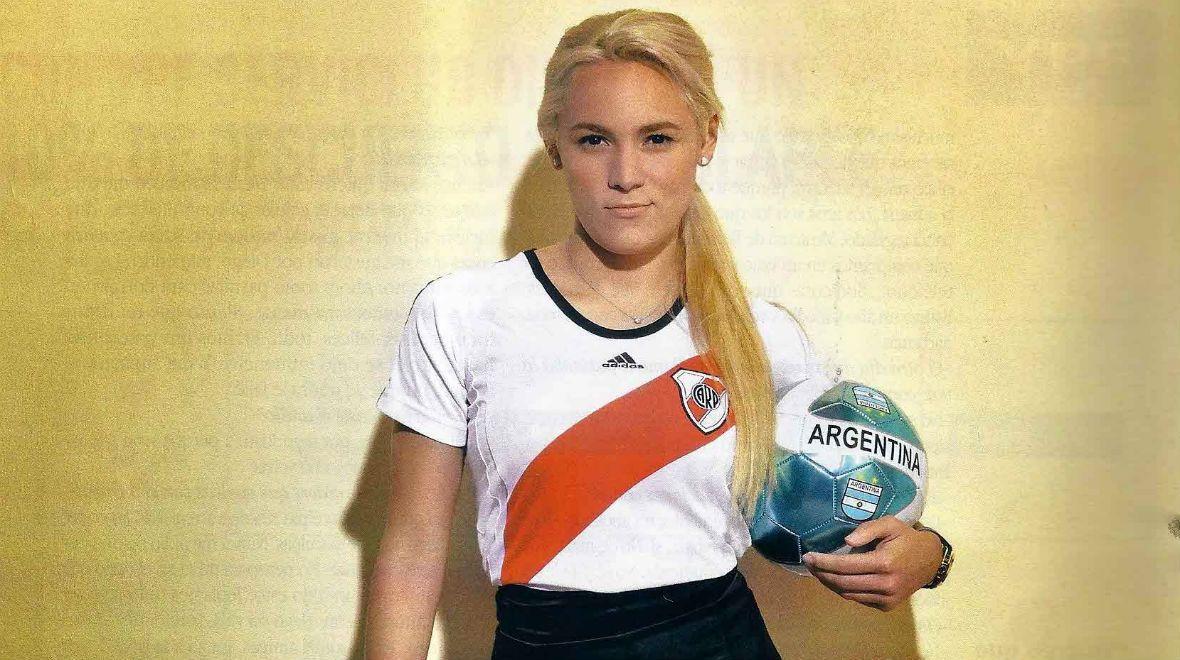 Rocío Oliva comenzó su carrera en River