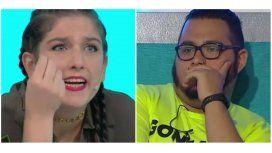 Juana Repetto, contra un participante de Cuestión de peso