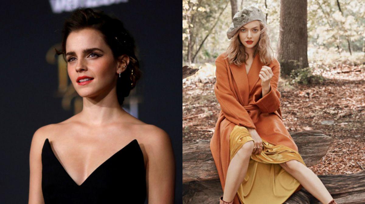 Se filtran fotos de Emma Watson y Amanda Seyfried