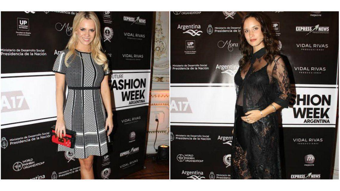 ¡Looks! El vestido polémico de Maglietti y Camila Cavallo sexy con transparencias