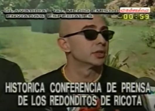 En 1997 habían prohibido un show del Indio Solari en Olavarria: su descargo en ese momento