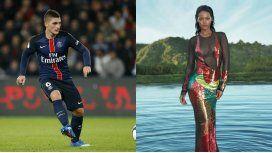 El representante de Marco Verratti negó que él haya estado con Rihanna