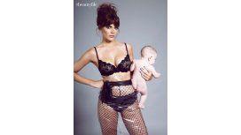 Emilia Attias y una producción de fotos con su hija Gina que despertó polémica