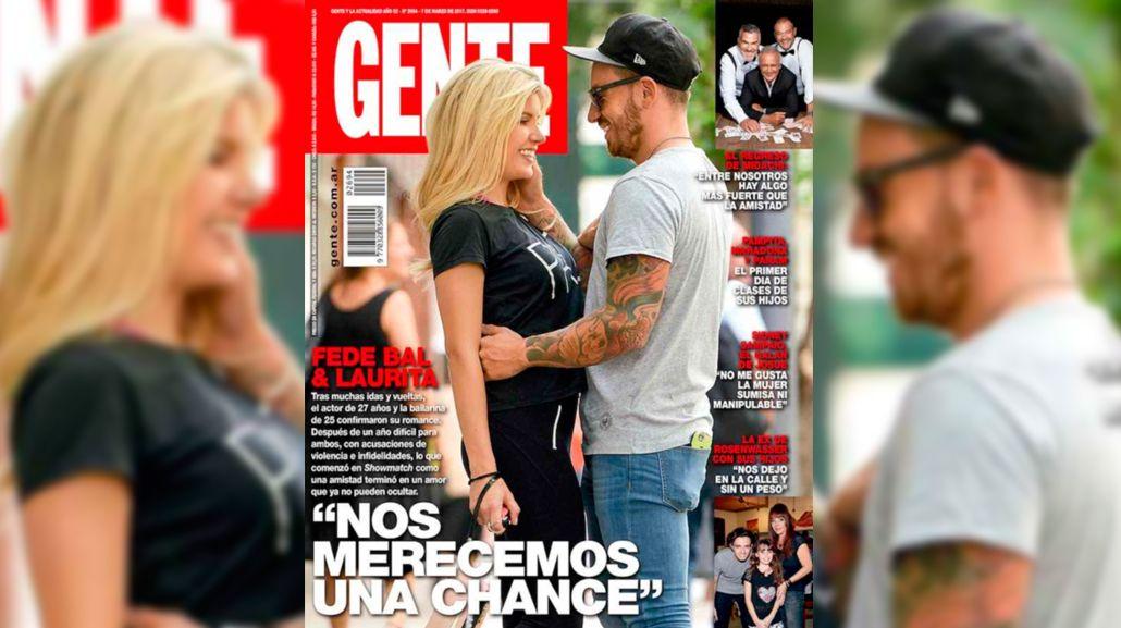 Laurita Fernández y Fede Bal blanquearon su romance