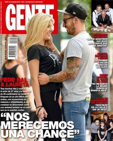 Laurita Fernández y Fede Bal confirman el romance