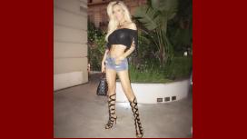 Luciana Salazar, sexy en el Four Seasons