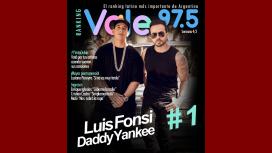 Luis Fonsi y Daddy Yankee en el puesto N°1