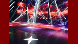 La pista de Showmatch se prepara para el Bailando 2017