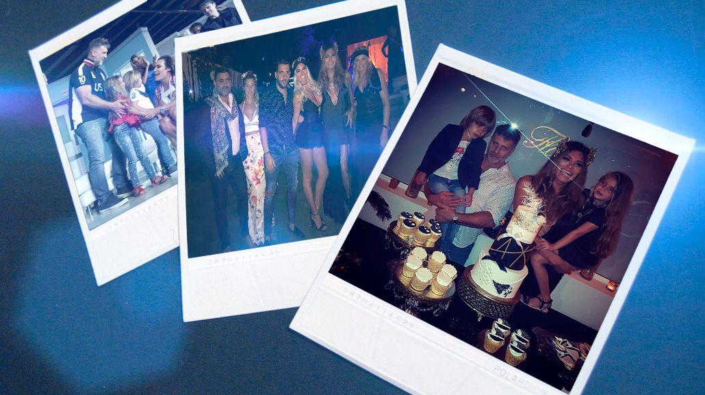 Las fotos del festejo de cumpleaños de Flor de la V