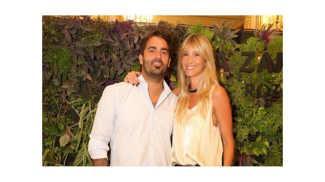 Sole Solaro, acaramelada con su nuevo novio en un evento de Sofía Zámolo