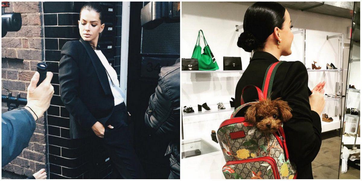 La China Suárez usó un vestido muy parecido a uno de Katy Perry