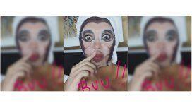 Melina Pitra se auto-escrachó en Instagram