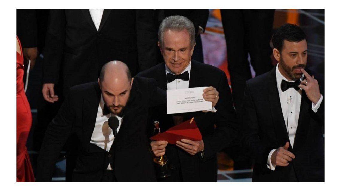 Oscar 2017: el gran error