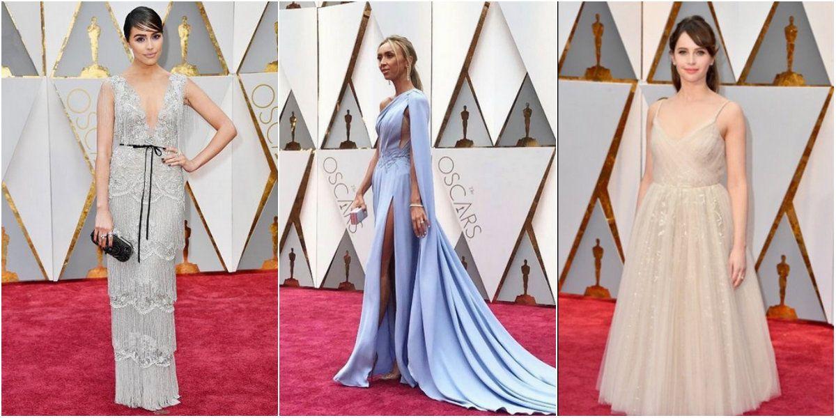 Los primeros looks de la alfombra roja de los Oscar 2017