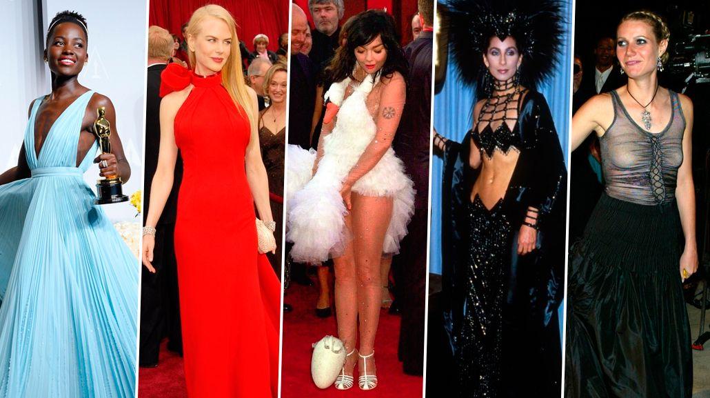 Los 10 looks más recordados e insólitos de los Oscar
