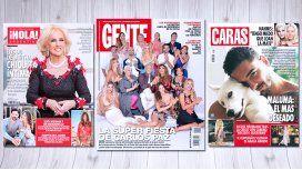 Las tapas de las revistas