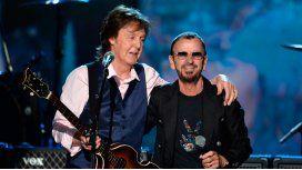 Paul McCartney participa en el nuevo disco de Ringo Starr