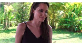 Angelina Jolie, quebrada y muy cambiada