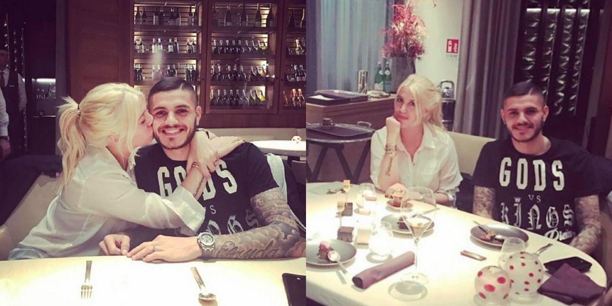 Wanda Nara saludó a Mauro Icardi por su cumpleaños