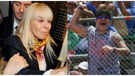 Claudia Villafañe y Diego Maradona no acordaron en la mediación