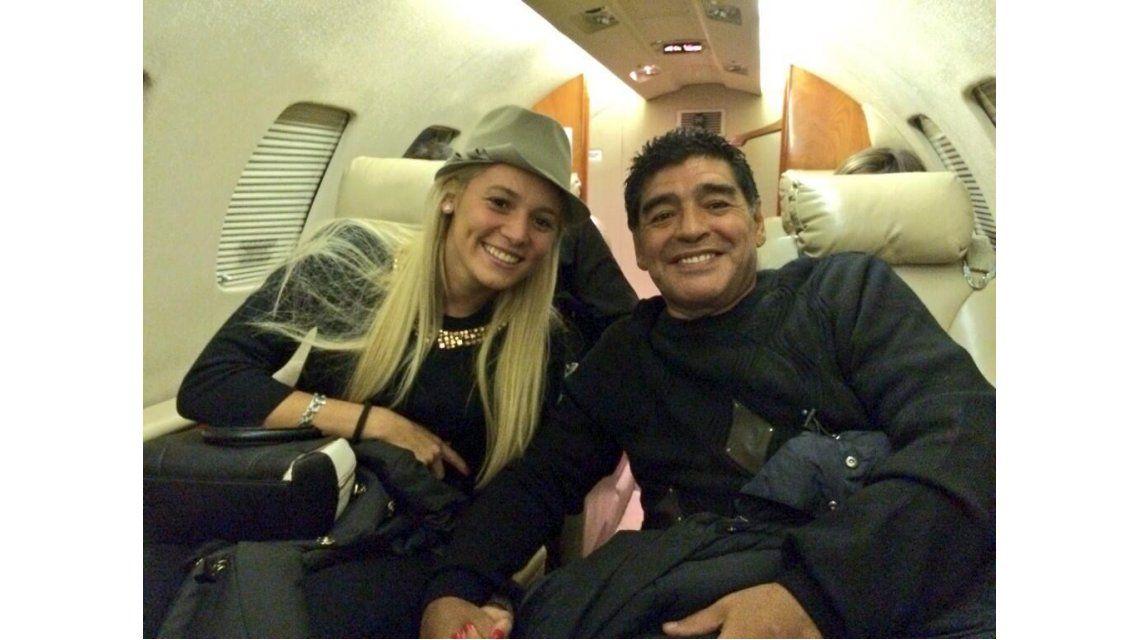 Rocío Oliva se negó a declarar tras su discusión con Maradona